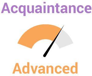 Acquaintance – Advanced
