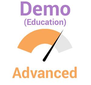 Demo (Education) – Advanced