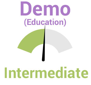 Demo (Education) – Intermediate